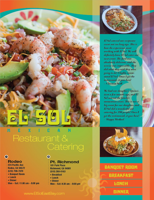 El Sol Mexican Restaurants